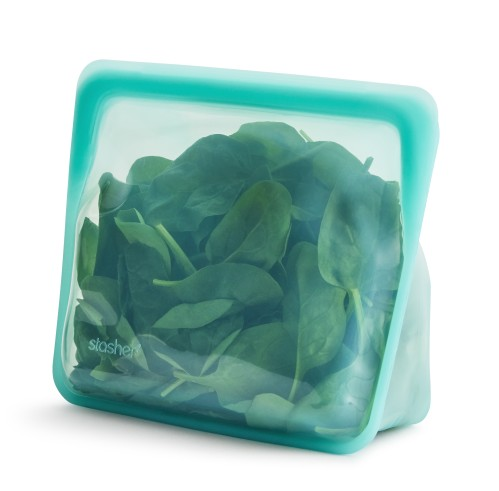 Daugkartinio naudojimo stand-up Aqua stasher silikoninis maišelis