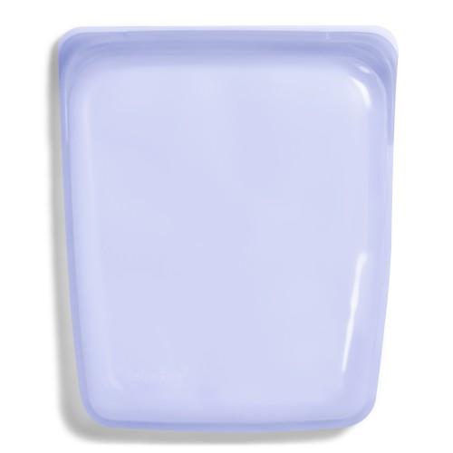 Daugkartinio naudojimo didysis stasher silikoninis maišelis vaivorykštės levandų