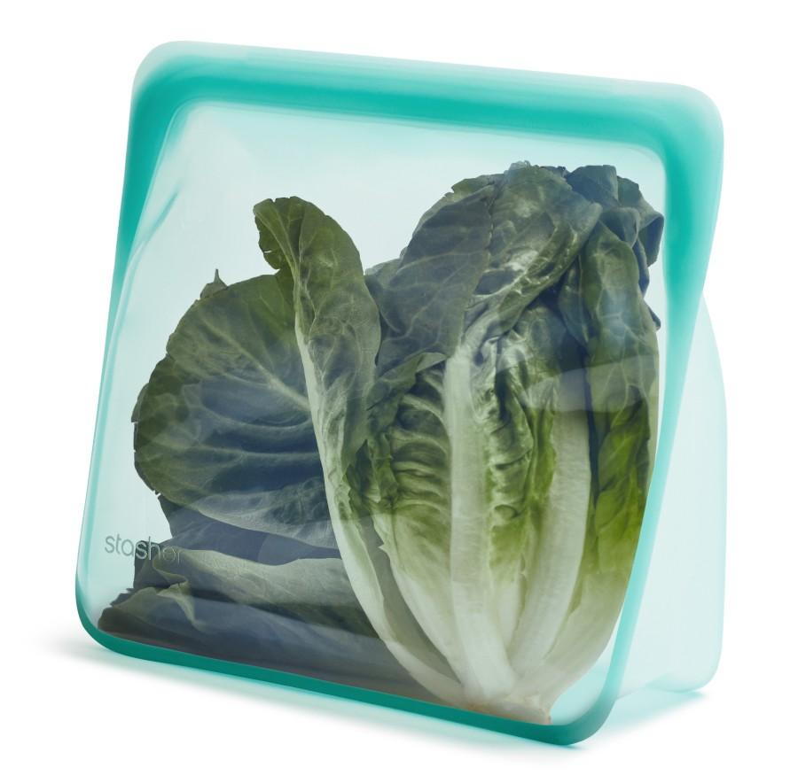 Daugkartinio naudojimo stand-up mega aqua stasher silikoninis maišelis